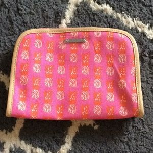 Stella and Dot Pineapple Beauty Bag